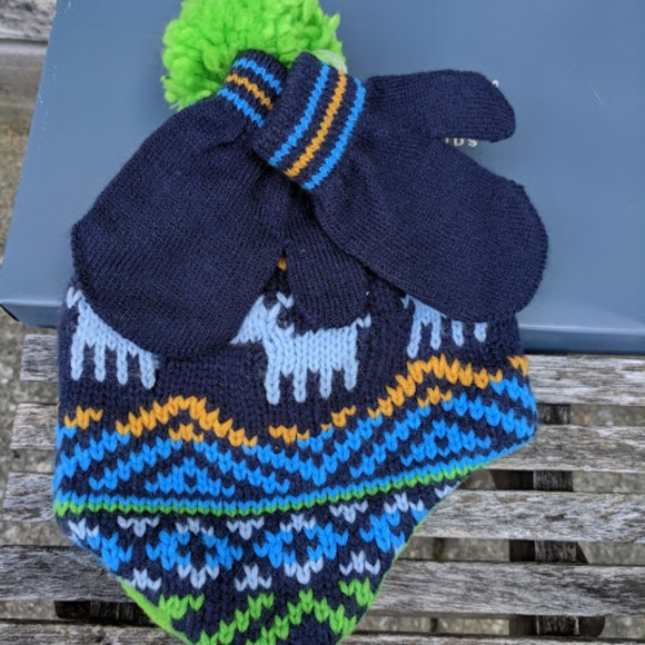 NWT Carter s Hat and Mitten Set 6-18 Months d413f4aee040